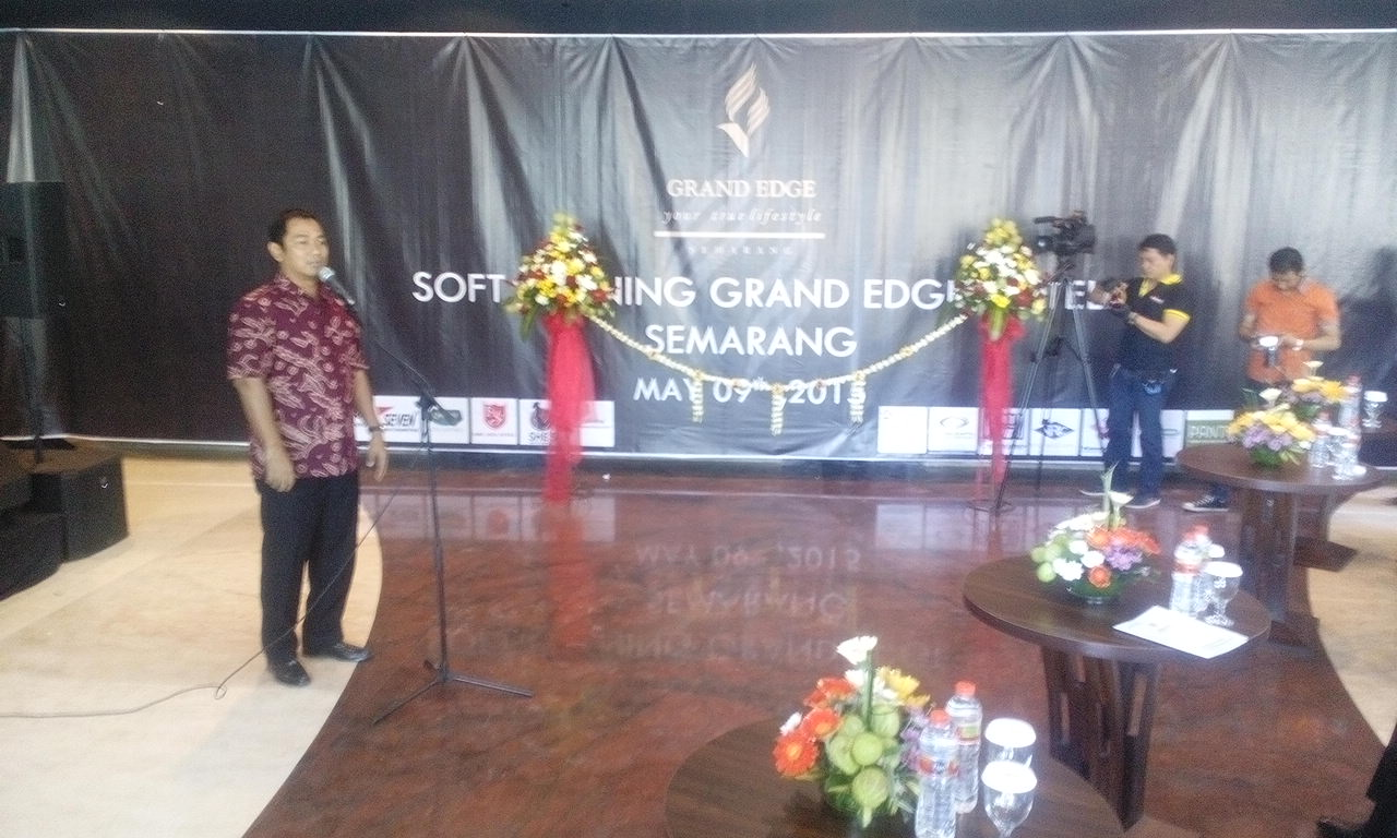 Soft launching Grand Edge Mall and Hotel